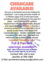 Childcare Available!