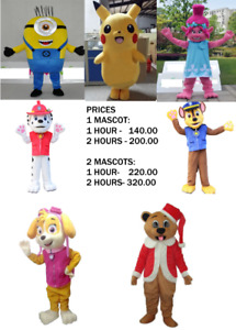 MASCOTS FOR KIDS PARTY & EVENTS