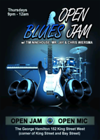Open Jam every Thursday night at The George Hamilton