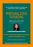 Personalized Tutoring Service