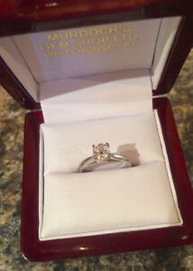 (NWT) Canadian Diamond Solitaire Engagement Ring