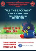 Fill the Backpack School Supply Drive