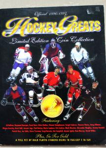 Vintage NHL got um Medallions Set