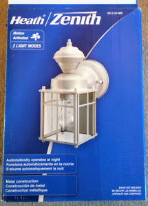 Outdoor motion light - still in box