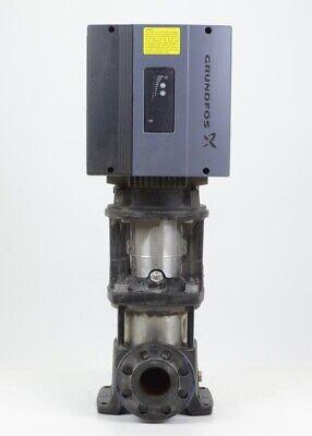 Grundfos 2-stage 2 Cre 20-2a-gj-a-e-hqqe Inline Ansi Booster Pump Wvfd Motor