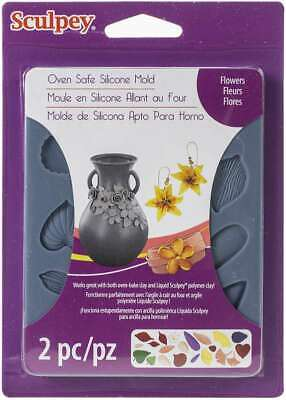 Sculpey Flexible Push Mold Flowers -