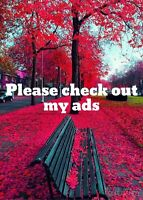 Check out my ads