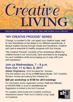 """My Creative Process"" Series: Multi-Day Workshops"