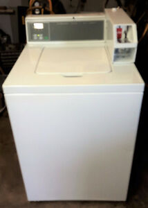 Huebsh Commercial Coin Operated Washer & Electric Dryer