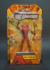 DCUC Red Arrow / Hawkman (Beat Up Card) / The Flash - 70 as Set