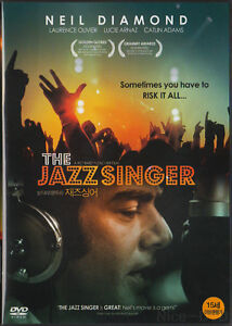 The Jazz Singer (1980) DVD, NEW!! Neil Diamond, Laurence Olivier