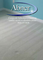 Professional Carpet & Furniture Steam Cleaning Specials 15% off