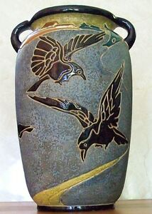 Large Art Pottery Vase-'Amphora' 1920's