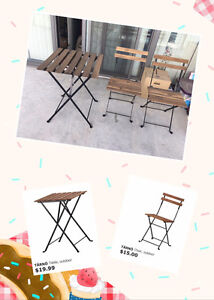 IKEA Tarno outdoor table & chair for sale cheap