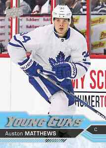 2015 2017 TIM HORTON HOCKEY CARDS MASTER SETS and Austin Matthew