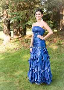 Beautiful prom or bridesmaid dress with shawl.  PRICE REDUCED