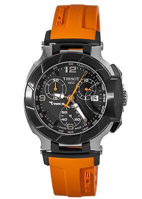 New Tissot T-Sport T-Race Chronograph Orange Women's Watch T048.217.27.057.00