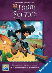 BOARD GAME - BROOM SERVICE