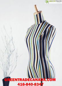 DRESS FORMS, TORSO, BUST FORMS, MALE & FEMALE