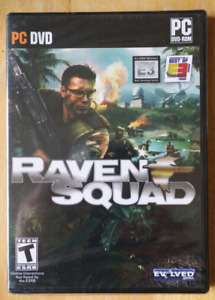 New RAVEN SQUAD PC DVD Brand New Sealed Pickup in Newmarket