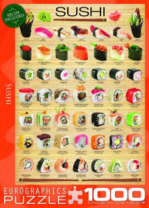 Eurographics Puzzle 1000 pieces - Sushi (New in box)