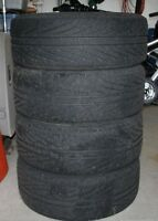 4 used Michelin Hydroedge with Alloy Rims
