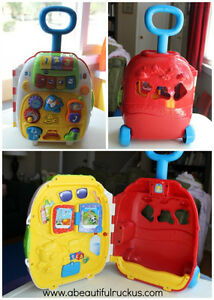 vtech roll and learn suitcase