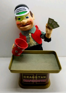 Vintage 1960s BATTERY OPERATED Craps Shooter
