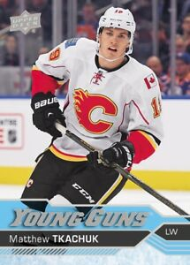 MATTHEW TKACHUK ... 2016-17 Upper Deck .. YOUNG GUNS ROOKIE CARD