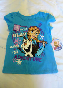 NEW Disney Frozen t-shirt Size 3T (on the small side)