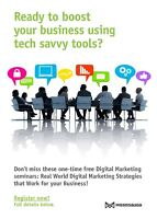 EVENT: Ready to Boost Your Business Using Tech Savvy Tools?