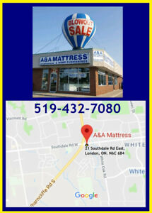 New *Double Mattress & Boxspring LOW PRICES *FREE LOCAL DELIVERY