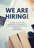 Administrative Position - Part Time