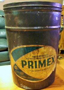 Primex Vegetable Shortening Pail  Can Procter & Gamble