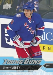 JIMMY VESEY .... 2016-17 Upper Deck YOUNG GUNS .... ROOKIE CARD