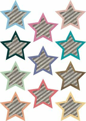 TCR 8860 Rustic Stars Shabby Chic Cut Outs Bulletin Board Classroom Decorations