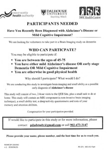 Adults with  Mild Cognitive Impairment needed for Research