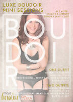 Boudoir Mini Sessions January 15th- Only 5 Spots Left!!