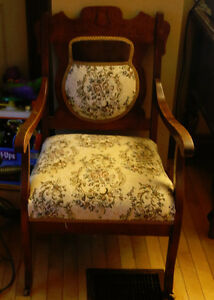 Antique 3 piece settee..