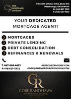 Mortgages-Loans-Private Lending-Refinances-Mississauga-GTA