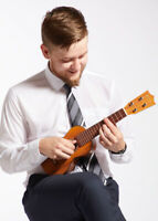 Ukulele lessons in Barrie,ON with Stan White, First Lessons Free