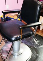 Newly repository Salon chair and mat