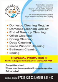 THE BEST CLEANING SERVICE! LEAVE YOUR HOUSE CLEANING FOR PROFESSIONALS