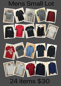 Mens S/M Brand name Lot - will not separate- FCFS-