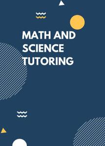 Math and Science Tutoring for High School (Brampton)