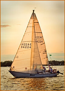 Sailboat Bella C&C25 is for sale! Mint condition, ready to sail!