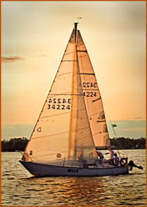 C&C25 Sailboat must be seen for $10,700.00