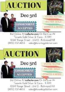 Toronto Gold Silver Massive Winter Auction! Kitchener / Waterloo Kitchener Area image 1
