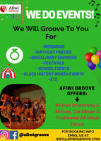 AFIWI GROOVE SCHOOL DOES EVENTS!