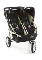 BOB REVOLUTION SE DUALLIE STROLLER WITH ATTACHMENTS